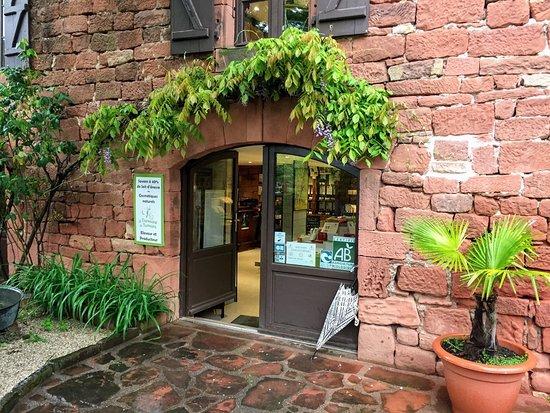 Boutique de la savonnerie du Domaine de Tamara