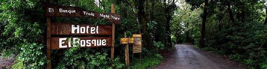 Monteverde, Kostaryka: El Bosque Entrance