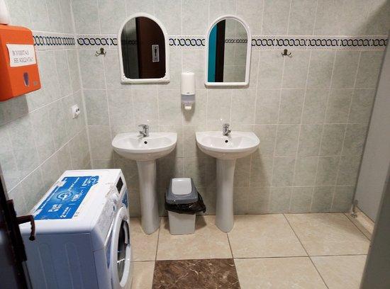 Майма, Россия: Общий туалет и душ