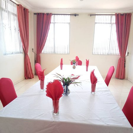 From smaller gatherings to big occasions, we are always there for you.  we would also like to inform you of our heightened safety measures including one metre spacing between seats, sanitizer spray and hand wash at every section and good hygiene all-over the hotel.  Find us on plot 2A Kijungu Senior Quarters. For reservations,  Call +256 393 241 752 WhatsApp +256 782 929 092.  #conferencehalls #parties #boardroom #HoimaResortHotel