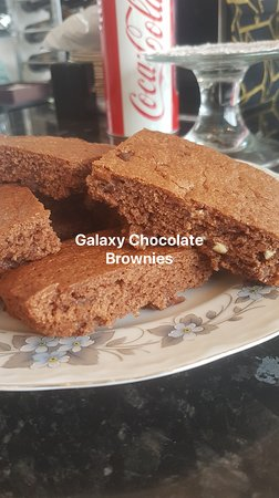 Chandler's Ford, UK: Home made Galaxy Brownies