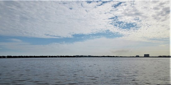 Terra Ceia, FL: Cloudy Day: View of the Bay Area