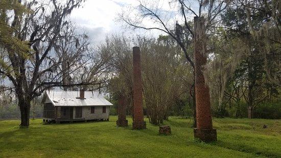 Orrville, AL: Crocheron Columns at Old Cahawba.
