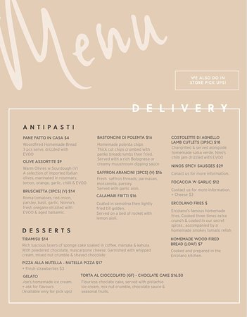 Patterson Lakes, Австралия: TAKE AWAY & DELIVERY NOW AVAILABLE  THURSDAY TO SUNDAY 5.30PM TO 9.30PM