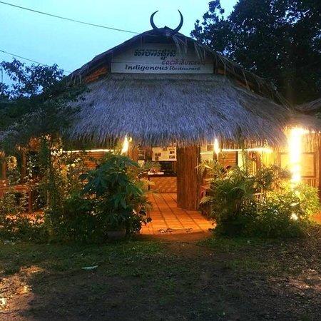 This is indigenous restaurant in Mondulkiri it's was very good food.