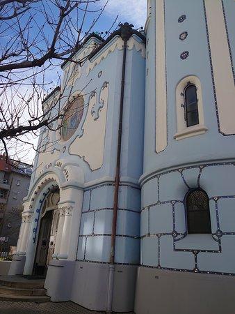 บราติสลาวา, สโลวะเกีย: #ブラチスラバ #青の教会