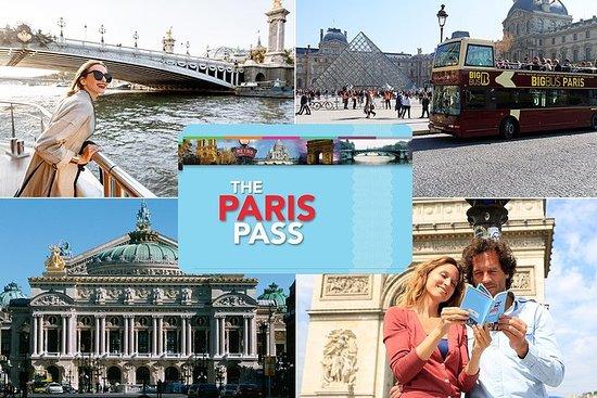 巴黎通票包含随上随下巴士之旅以及 60 多个景点参观