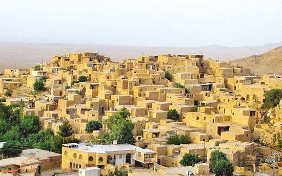 Semnan, Iran: The village was built on a foothill area, which led to the use of staircase architecture in the construction of its houses.  This unique architecture along with the special materials of the region and the beauty of the desert have created a memorable image.