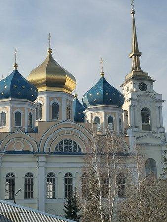 Bolkhov, Rusia: Вид из окна семейного номера