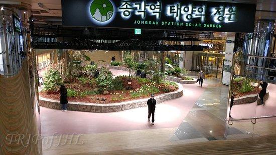 Jonggk Station Solar Garden