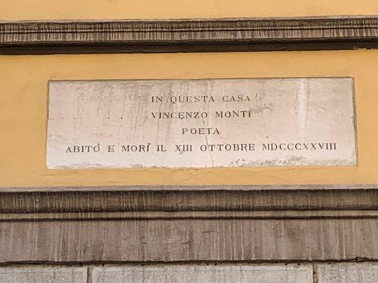 Casa di Vincenzo Monti