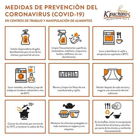 Seguimos atendiéndote en el restaurante con el servicio y la calidad que nos caracterizan, siguiendo estrictamente todas las medidas de seguridad e higiene recomendadas por las autoridades.