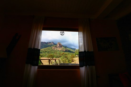 Bale Mountains National Park, Эфиопия: View from the main lodge