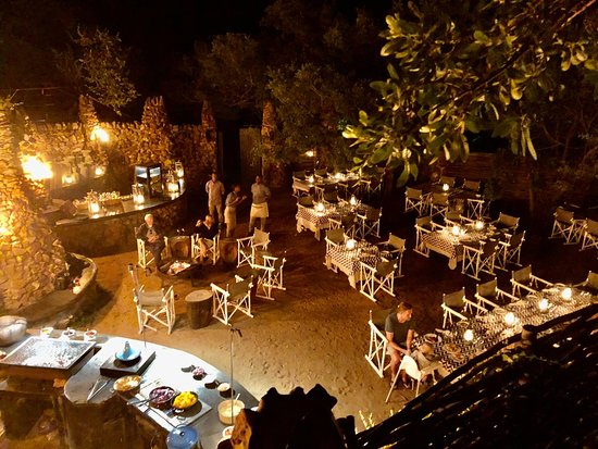 Phinda Private Game Reserve, แอฟริกาใต้: Getting ready for Tuesday night Braai.