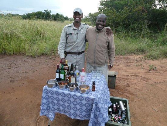 Phinda Private Game Reserve, แอฟริกาใต้: Sundowner!