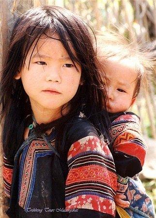 Mu Cang Chai, Vietnam: Hmong child