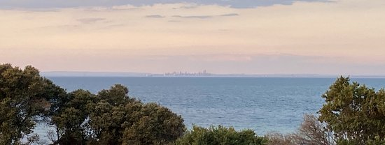 Indented Head, Australia: Melbourne across the bay