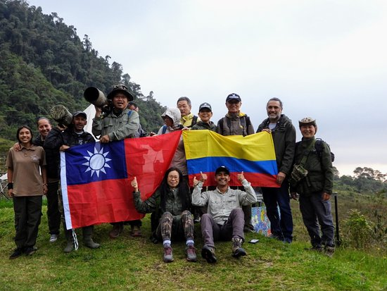 Villamaría, Colombia: One of the most special groups of professional photographers of taiwan that visit with us, our route of Andes & Choco Region