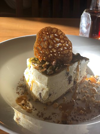 Fairford, UK: The most amazing Cheesecake that I have ever had the pleasure to taste..!!!