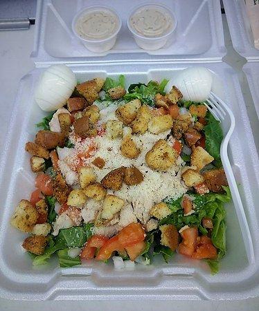 Sturgis, MI: Half-size Salad is huge!