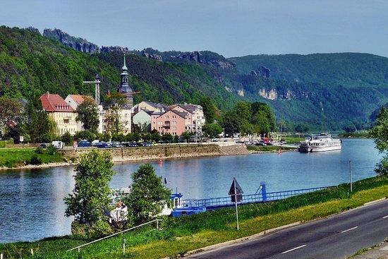 A través de Bad Schandau / Suiza Sajona por búsqueda del tesoro
