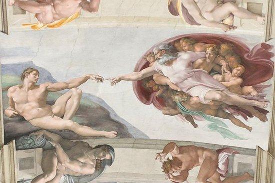 バチカンとシスティーナ礼拝堂のバーチャルガイド付きツアー(ESTでの時間)