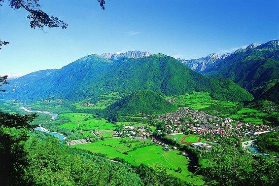 Soča river cycling day trip from Tolmin