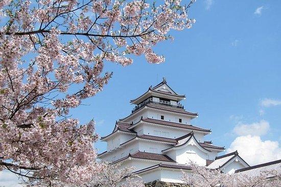 Excursion privée d'une journée à Aizu avec guide sous licence...