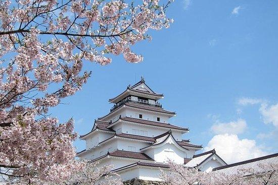 Excursion privée d'une demi-journée à Aizu avec guide sous licence...