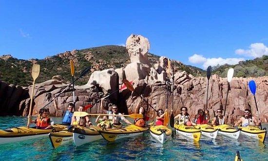 Centro escursioni in kayak. Qui ad es. siamo nel tour di Cardedu