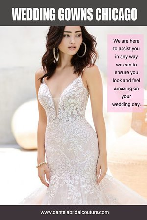 Lincolnwood, IL: Wedding gowns in Chicago from the finest designers at https://dantelabridalcouture.com/wedding-gown-designers/  Find Us On Google Map : https://g.page/Dantela  It's essential to find a gown that will be appropriate for all of these roles. If she's going to be wearing only a little bit of makeup and a skirt that barely covers her bottom, then don't choose a gown that is too tight. You should find a dress that is something around your size, and that is at least mid-thigh length.