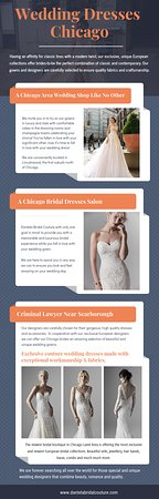 Lincolnwood, IL: Wedding dresses in Chicago for every woman to make them feel special at https://dantelabridalcouture.com/soterro-and-midgley-wedding-dresses/  Find Us On Google Map : https://g.page/Dantela  The wedding dresses in Chicago for women will be the star of the day, but the groom will take most of the attention. It is easy to overlook the importance of his dress. A bride with little experience in this matter may even think that the color and style of the dress will be more important than the design.