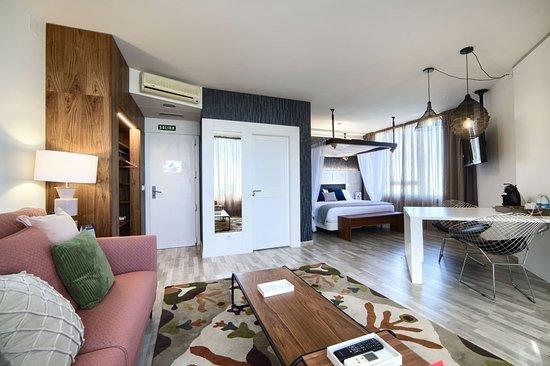 Castejon, España: Habitación Suit: Zona panorámica