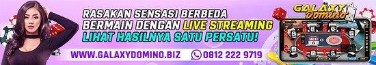 Deli Serdang, Indonesia: WWW.GALAXYDOMINO.BIZ 1.BONUS NEW MEMBER 20+20 2.BONUS REFERRAL 20% 3.MINIMAL DP & WD 20.000 JENIS GAMES : ADU CEME | CEME KELILING | ADU DADU | BANDAR DADU | BANDAR SAKONG