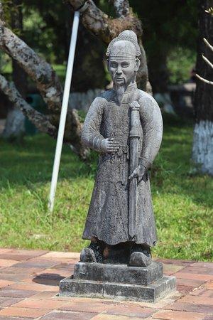 Statue guerrier