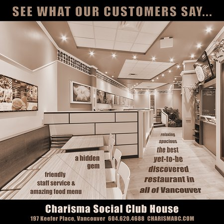 Charisma Cafe & Dessert House: We will hang on till we see you again. Please support us through DashDash, UberEats, Foodora or Fantuan delivery during this period. We accept take-out and delivery orders from 2pm until midnight 7 days a week.  Thank you!  #StayHome #StaySafe #CafeCharisma #CharismaBC