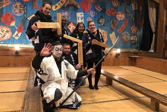 "Besøk det lokale Kabuki-teatret ""Meijiza"" og opplev Kumadori Makeup"