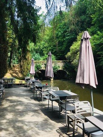 Habay-la-Neuve, Bélgica: La terrasse