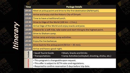 Diryah, Σαουδική Αραβία: Saudi Arabia , Riyadh , Palms Lams Tours (PLTKSA) ,Diriyah & Edge of the world , Camp