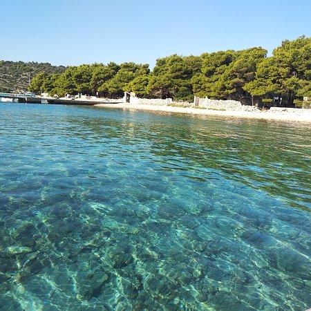 Veliki Drvenik, Croacia: Blue lagoon