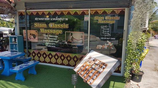 Choeng Thale, Tajlandia: Siam Classic Massage at Surin Beach