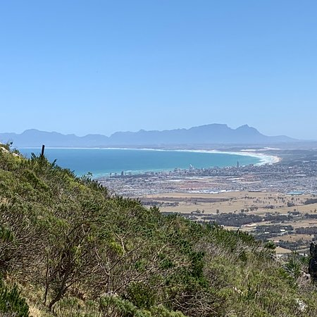Sir Lowry's Pass, แอฟริกาใต้: View over Cape Town
