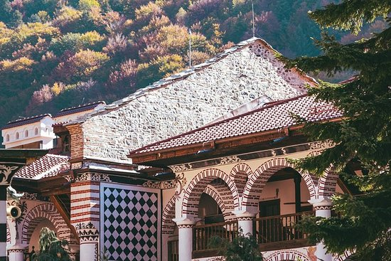 リラ修道院のセルフガイドツアー