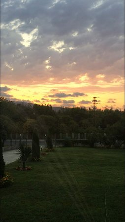 Ahtopol, บัลแกเรีย: Amazing sunset view every night!