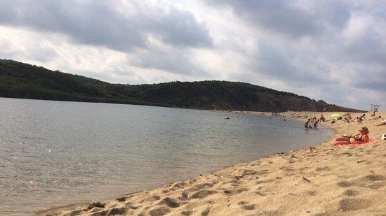 Ahtopol, บัลแกเรีย: Veleka Beach-15min with car