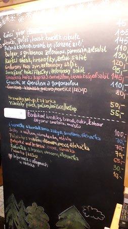 Stachy, Чехия: menu 8.3.
