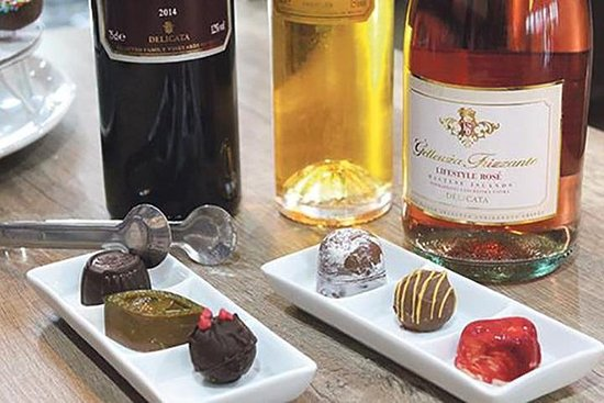 Maltesische Wein & Schokolade Paarung
