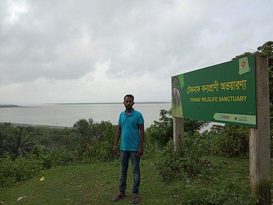 Teknaf, Bangladesh: Bangladesh Border with Myanmar