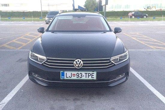 Private transfer from Kranj to Ljubljana city