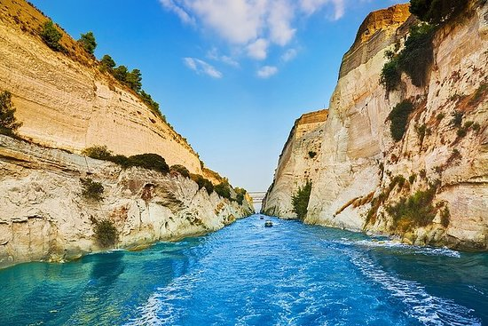 """Private Luxury Tour to """" Isthmia Canal..."""
